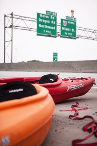 Bumps along the road | The Kayak incident