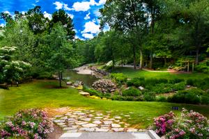 Falls Park in South Carolina