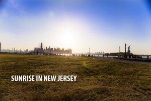 Camping in New York and a New Jersey Sunrise