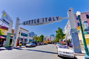 Little Italy Condos Sign